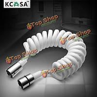 KCASA™ 1.8м пвх пружина гибкий шланг выдвижная для туалетной биде душевая водопроводу душевой головкой