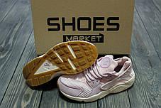 "Женские кроссовки Nike Air Huarache Run TXT ""Bleached Lilac"" 818597-500, Найк Аир Хуарачи, фото 3"