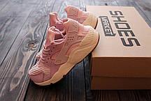"Женские кроссовки Nike Air Huarache Run TXT ""Bleached Lilac"" 818597-500, Найк Аир Хуарачи, фото 2"