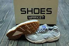 Женские кроссовки Nike Air Huarache Run TXT Light Blue 818597-400, Найк Аир Хуарачи, фото 3