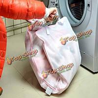 Дизайн пачки полотенце одеяло Пододеяльник занавес стиральная мешок