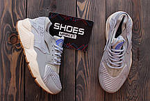 Женские кроссовки Nike Air Huarache Run TXT Light Blue, найк хуарачи, фото 3