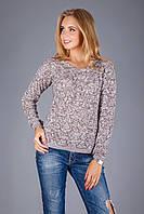 Стильный женский пуловер на зиму