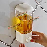 Дозатор мыла настенный пластиковый 500мл