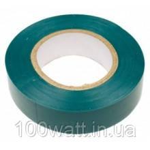 Изолента огнестойкая ПВХ 10м зеленая