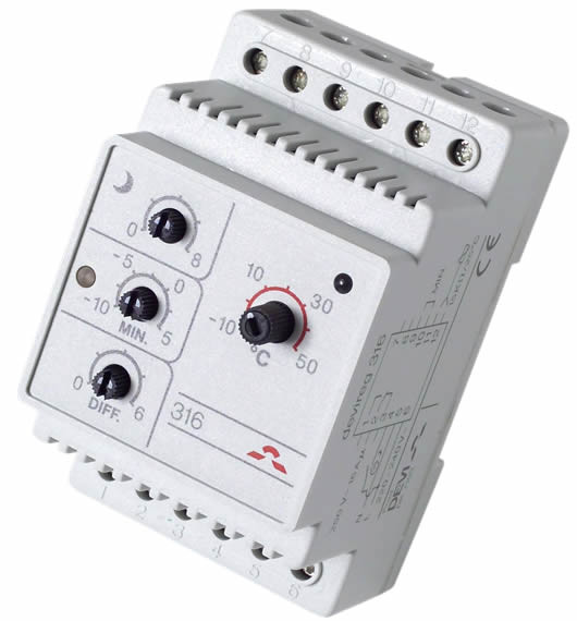 Терморегулятор DEVIreg™ 316 для систем антиобледенения