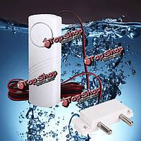 Твитер гудит сигнал тревоги утечки воды детектор утечки для ванной комнаты кухня подвал с 2м провода и зонд