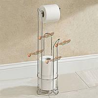 Гальванических держатель бумаги ванной подставка для хранения ткани из нержавеющей стали туалет