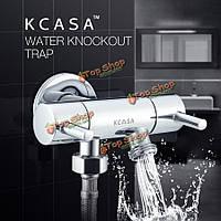 KCASA™ меди двойной контроль воды переключатель Нокаут ловушкой трехходовой клапан угол ванны вода переключающий