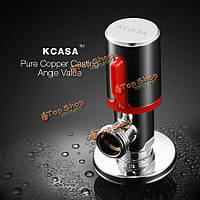 KCASA™ хром угол латунь клапан туалет и ванная прачечная выключатель переключающий машина вода Accessorie