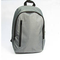 Рюкзак Серый с кармашком