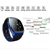 Часы Smart Watch водонепроницаемые!(синие)