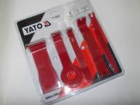 Съемники обшивки 5 ед. YATO YT-0836