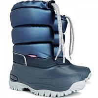 Зимние дутики, сноубутсы, сапоги Demar LUCKY синий для мальчика р.25-35 ТМ Demar (Польша)