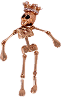 Кулон с цепочкой «Скелет»