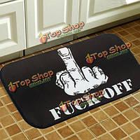 40x60см ватки смешной шаблон нескользящей коврик на пол ванной комнаты кухня спальня тряпка ковер