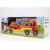 Технок Автовоз с стройтехникой 3930