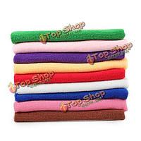 9шт 9 цвет микроволокна окно экрана мягкой абсорбирующие мыть полотенца автомобиль авто по уходу за тканью чистки
