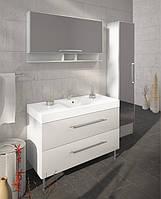 Мебель в ванную комнату Буль-Буль модель Barbados 120 (шкафчик с раковиной, зеркальный шкафчик, пенал)
