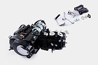 """Двигатель   для мопеда Delta 110cc   (АКПП 1Р52FMH) (улучшенное крепления на сайлентблоке)   """"TZH"""""""