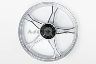 """Диск колеса   1,4 * 17   (зад, барабан)   (легкосплавный)   для мопеда Delta   (+подшипник, резинки демпферные)   """"GML"""""""