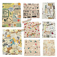 Старинные карты счета серия хлопок льняной ткани ткань лоскутное для поделок стола постельных принадлежностей занавес