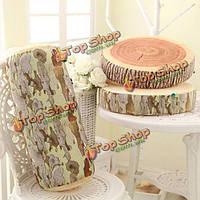 Мягкая подушка в форме сруба дерева