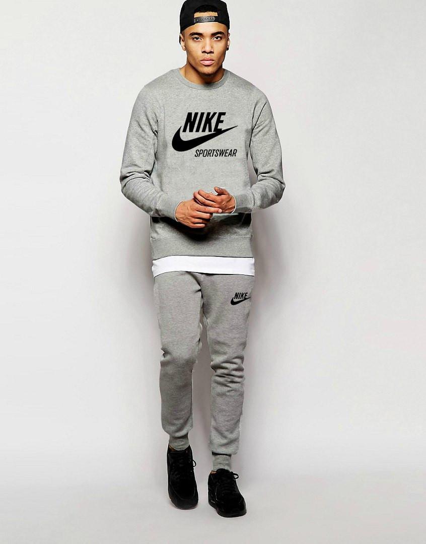 Мужской Спортивный костюм Nike Sportswear серый