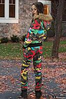 Женский зимний костюм Батал е-50055