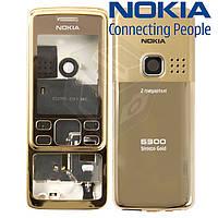 Корпус для Nokia 6300, gold (золотой), оригинал
