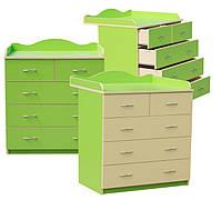 Комод-пеленальный столик Форт-опт (уни-одноцветный)