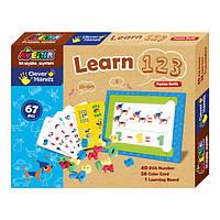Игра Hands Learn 1 2 3 Деревянные развивающие игрушки