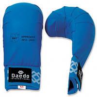 Перчатки для карате Daedo без пальца (KPRO 2010 WKF) Blue
