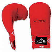 Перчатки для карате Daedo без пальца Red (KPRO 2010 WKF)