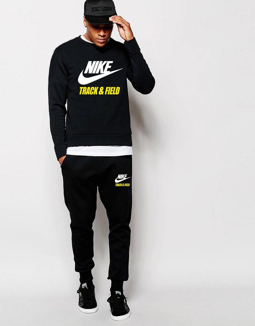 Мужской Спортивный костюм Nike Track&Field чёрный