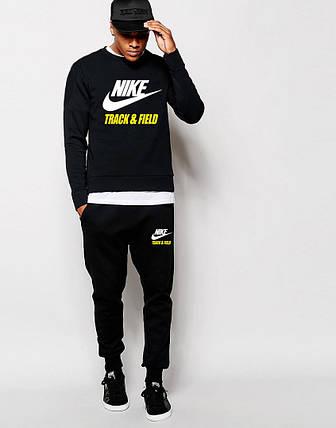 Мужской Спортивный костюм Nike Track&Field чёрный, фото 2