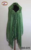 Стильный  шарф с кружевом  Летний ветер, фото 3