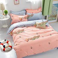3 или 4шт костюм розовый и серый парусный дневник реактивной крашения полиэфирных волокон наборы постельных принадлежностей