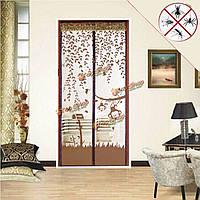 Волшебную дверь занавес сети сетки экран магнитного анти комаров вредителем чистой занавес протектор