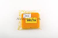 Элемент воздушного фильтра   для мопеда Delta   (поролон с пропиткой)   (желтый)