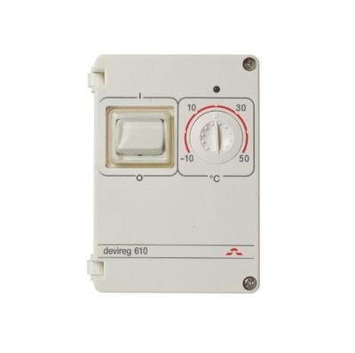 Терморегулятор DEVIreg™ 610 Для наружной установки. Защита от замерзания.