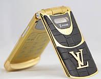 Телефон раскладушка Louis Vuitton LV9 2 sim луи витон