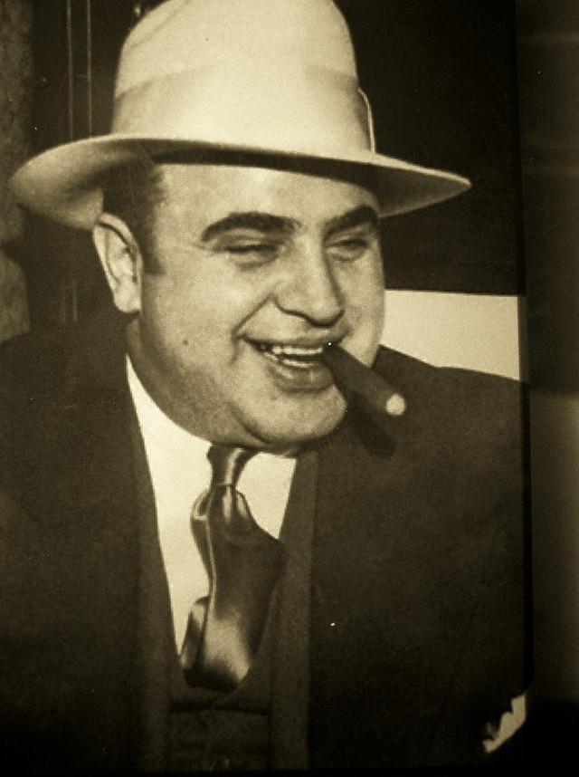 Босс мафии Аль Капоне