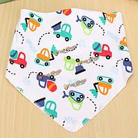 Мультфильм для малышей младенческой ребенок хлопка нагрудник Дети водонепроницаемый слюны отрыжка фартук шарф