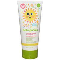 Солнцезащитный крем, 50+ SPF (Sunscreen), BabyGanics,177 мл