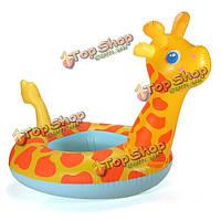 Надувной круг детский Жираф