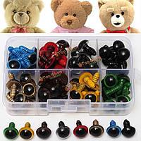80шт 12мм 8colors пластиковые глаза безопасности передних фар дети плюшевого мишку кукла животное игрушки ручной работы судов инструмент