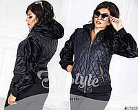 Курточка стильная, карманы декорированы цепочкой