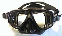 Маска для подводной охоты Scubapro Zoom; чёрная