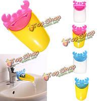 Новинка краб малыша мыть руки кран раковины ванной комнаты расширитель инструмент
